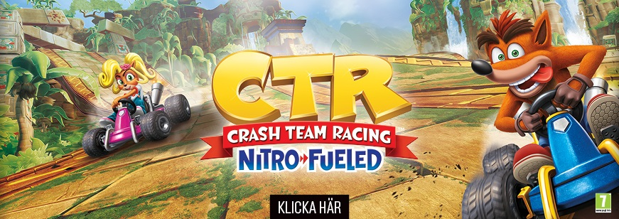 Crash™ Team Racing Nitro-Fueled Pre-order, crash racing, crash bandicoot, crash racing