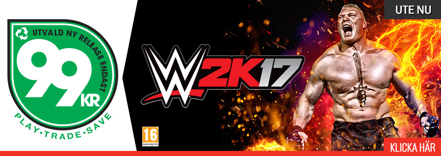 WWE 2K17 OUT NOW