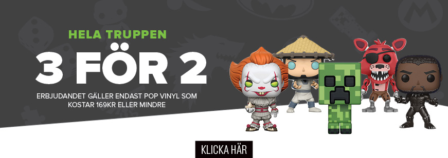 3 for 2, 3 for 2 pop, funko
