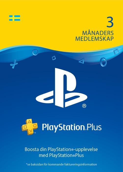 PlayStation®Plus: 3 månaders medlemskap [DIGITAL]
