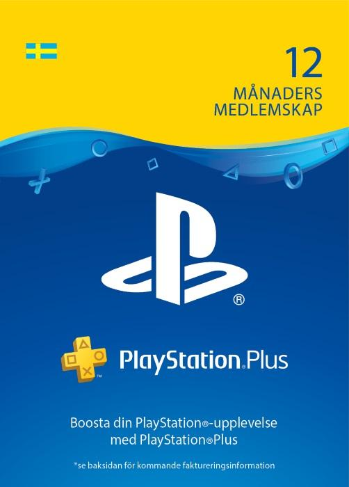 PlayStation®Plus: 12 månaders medlemskap [DIGITAL]