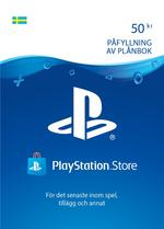 50 kr PlayStation®Network-plånbok