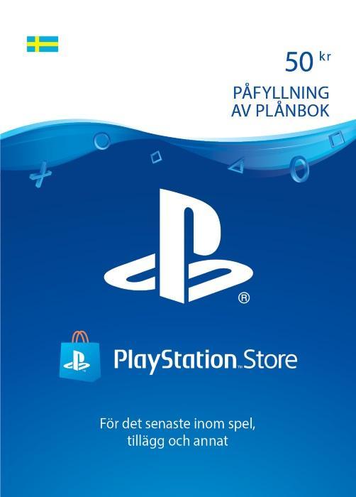 50 kr PlayStation®Network-plånbok [DIGITAL]