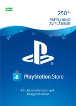 250 kr PlayStation®Network-plånbok