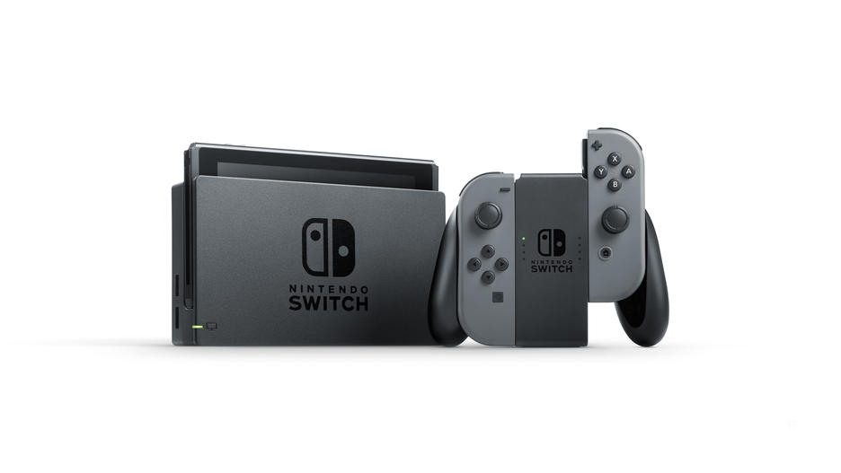 Nintendo Switch™ Grey Konsol