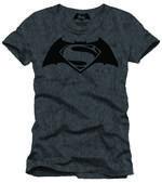 Batman Vs. Superman Logo T-shirt Large