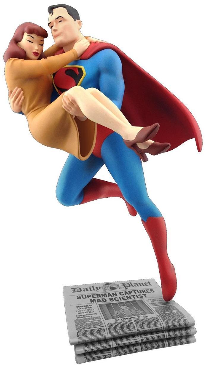 Superman Lois Lane Rescue Fleischer Statue