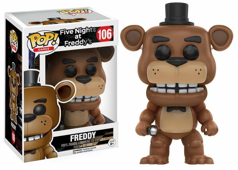POP! Five Nights at Freddy's - Freddy