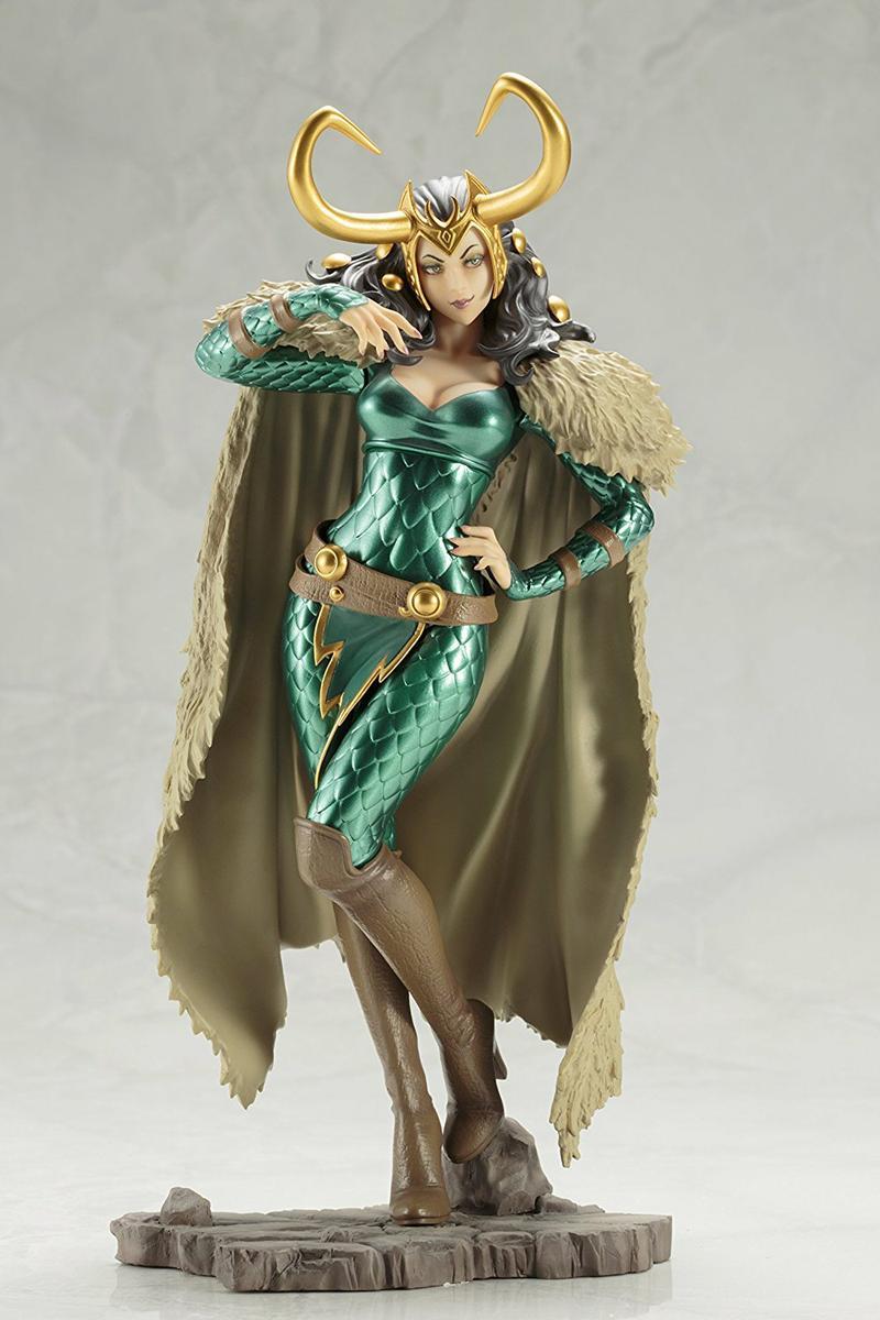 Lady Loki Bishoujo Statue Gamestop Sverige