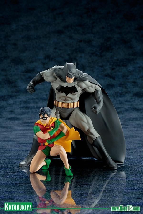 DC Comics Batman & Robin Two-Pack ARTFX+ Statue
