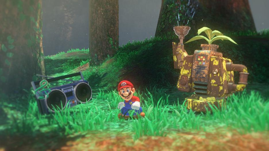 Super Mario Odyssey GameStop Sverige