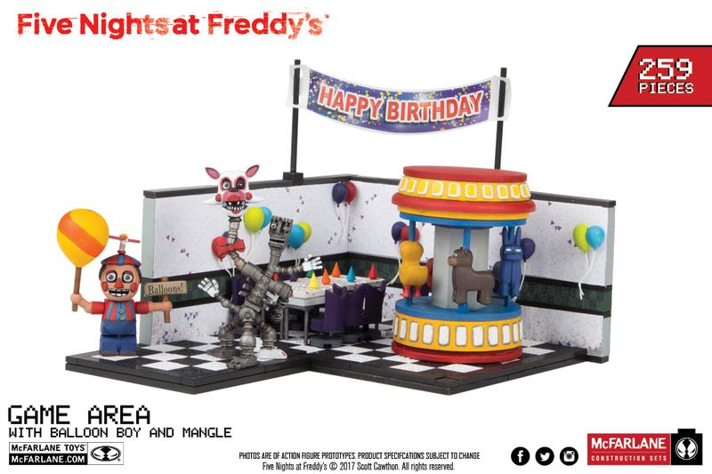 Five Nights at Freddy's: Game Area