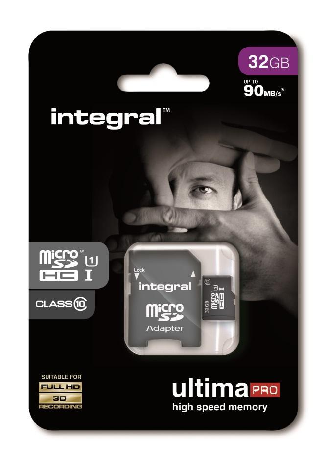 Integral Memory MicroSD Card - 32GB