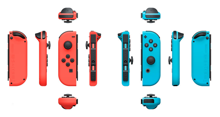 Nintendo Switch: Joy-Con Controllers Red/Blue