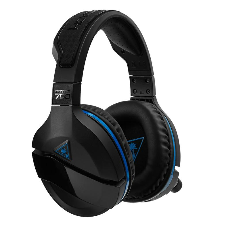 Turtle Beach® Black Stealth 700 Premium Headset till PS4