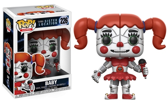 Pop! Games: Five Nights At Freddy's Sister Location - Baby