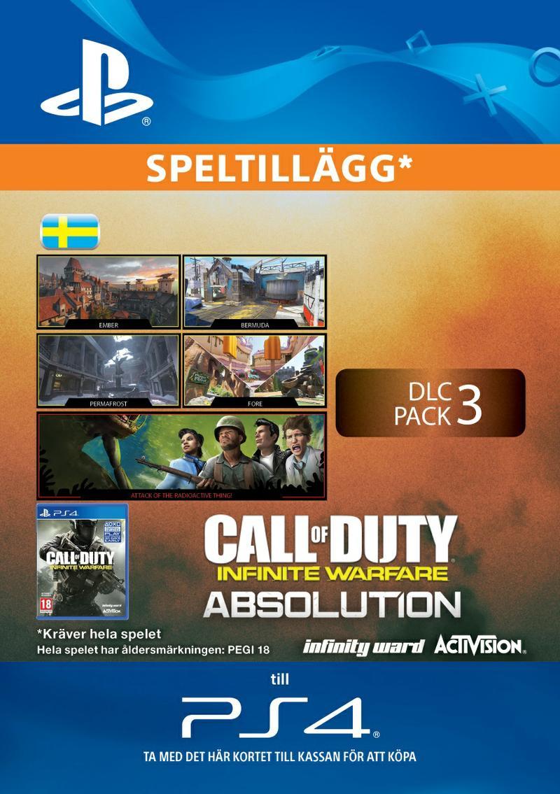 Call of Duty: Infinite Warfare DLC 3: Absolution Till PS4 [DIGITAL]