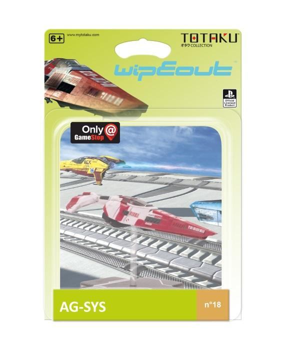 TOTAKU™ Collection: WipEout - AG-SYS Ship [Endast Hos GameStop]