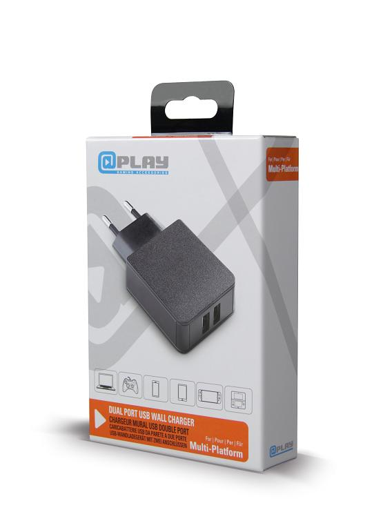 At Play: Dual Port USB Wall Charger