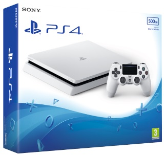 Glacier White 500GB PS4