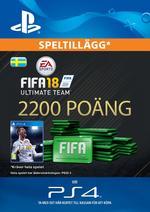 FIFA 18 Ultimate Team - 2200 Points Till PS4