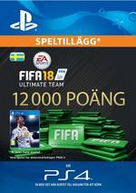 FIFA 18 Ultimate Team - 12000 Points Till PS4