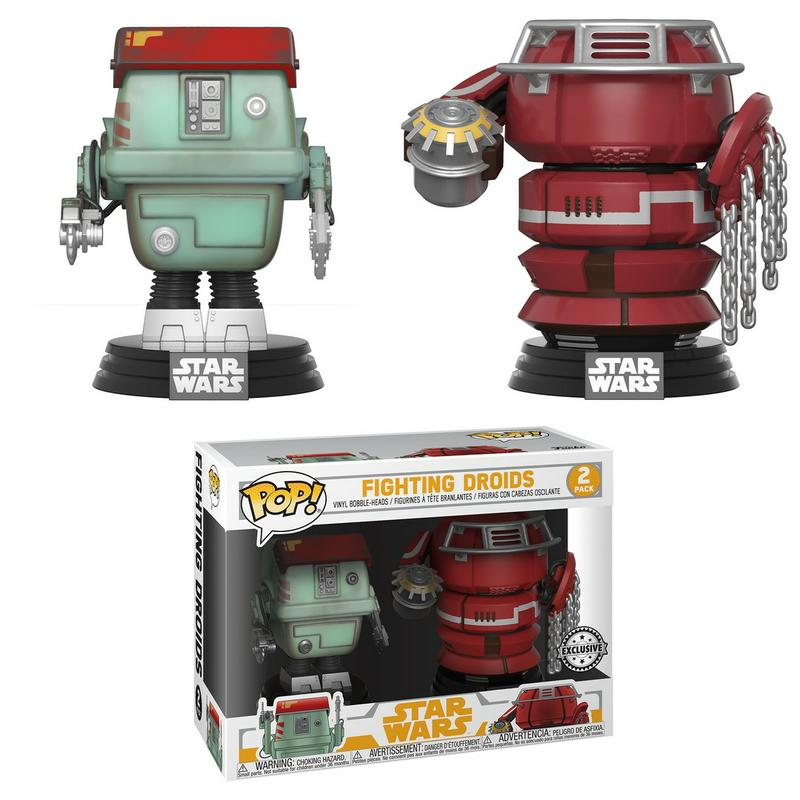 Star Wars: Solo: A Star Wars Story - Fighting Droids [Endast Hos GameStop]
