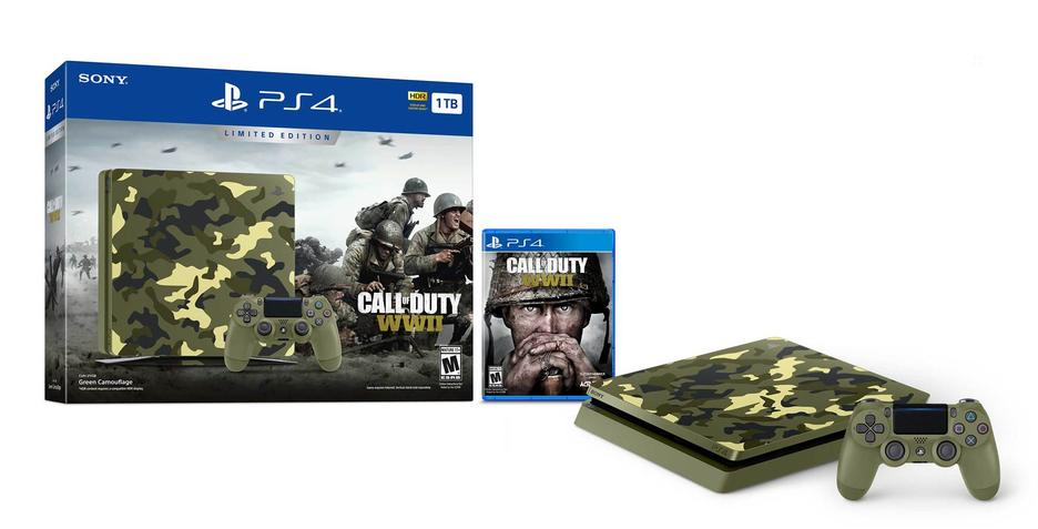 Playstation 4 1TB Call of Duty WWII Limited Edition Konsol