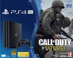 Playstation 4 Pro 1TB Console & Call of Duty WWII