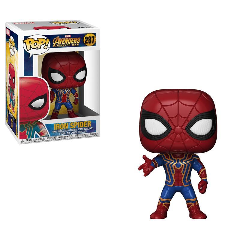 Avengers: Infinity War Iron Spiderman Pop! Vinyl Figure