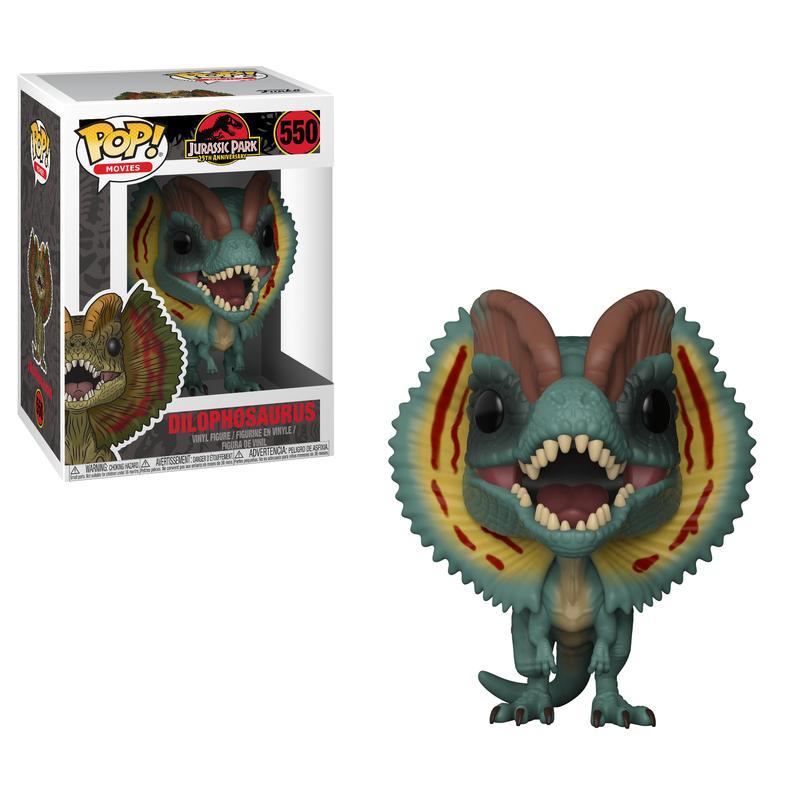 Pop! Games: Jurassic Park - Dilophosaurus