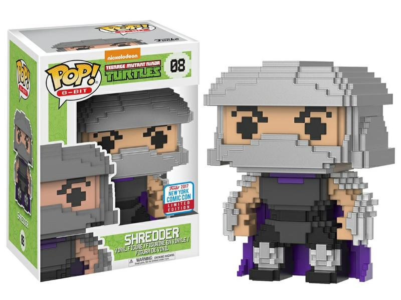 POP! TMNT: 8-Bit Shredder [New York Comic Con Exclusive]