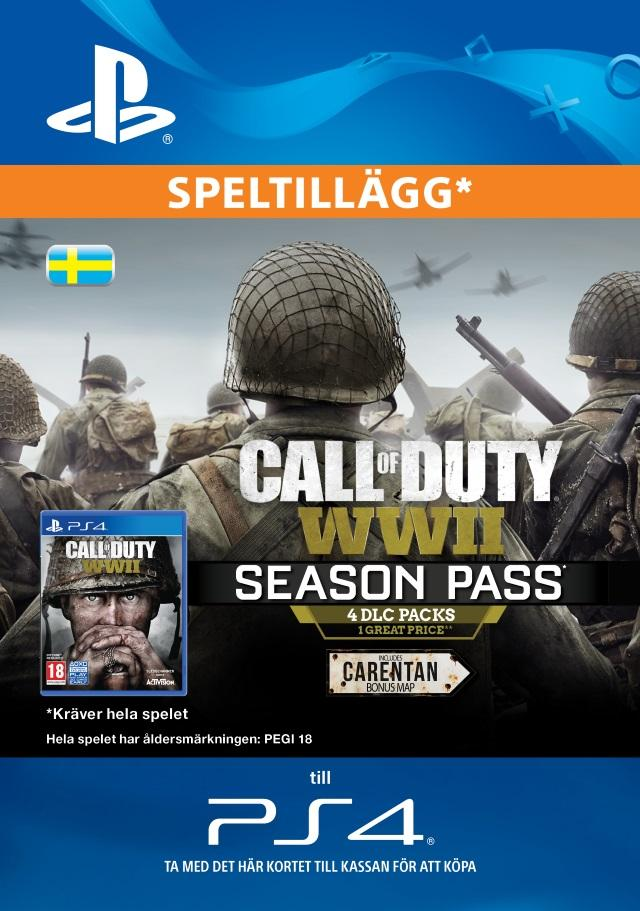 Call of Duty WWII Season Pass for PS4 [DIGITAL]