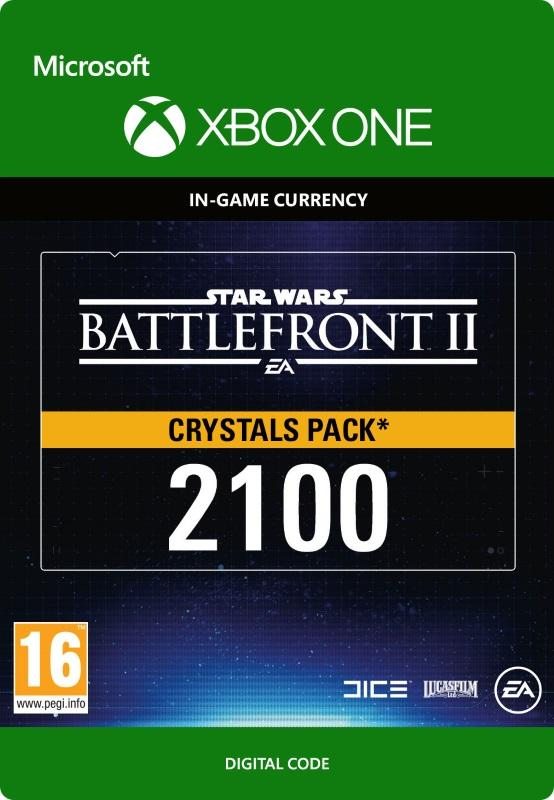 Star Wars Battlefront 2: Crystals Pack 2100 Till Xbox One [DIGITAL]