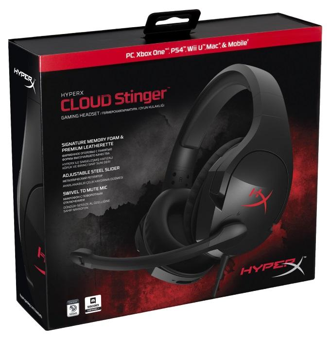 HyperX Cloud Stinger Headset