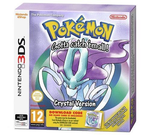 Pokémon Crystal Version [Code in Box]
