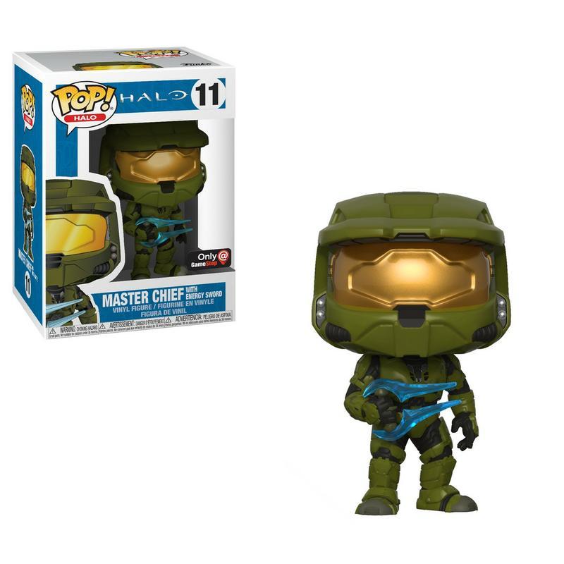 Pop! Games: Halo - Master Chief with Energy Sword [Endast Hos GameStop]