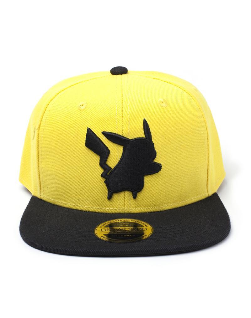 Pokémon: Pikachu Yellow Silhouette Snapback