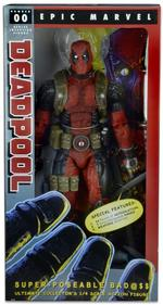 Marvel: Classic Ultimate Deadpool 1/4 Scale Action Figure