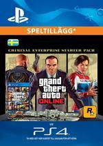 Grand Theft Auto V: Criminal Enterprise Starter Pack Till PS4