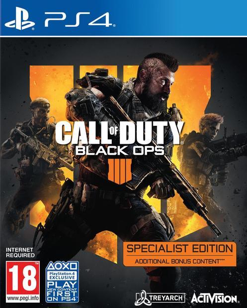 Call Of Duty: Black Ops 4 - Specialist Edition [Endast Hos GameStop]