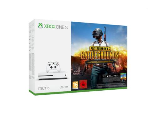 Xbox One 1TB Konsol och Player Unknown's Battlegrounds