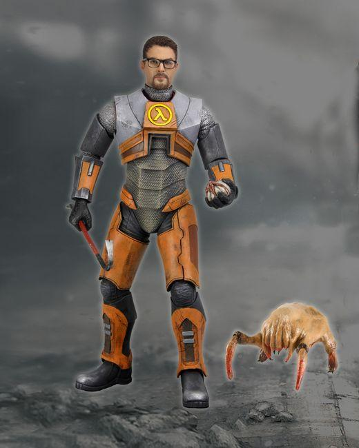 Half-Life 2: Gordon Freeman with Gravity Gun 7″ Figure