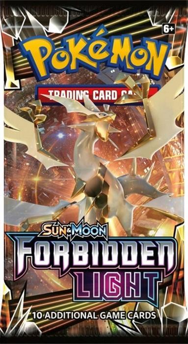Pokémon TCG: Sun & Moon Forbidden Light Booster Pack