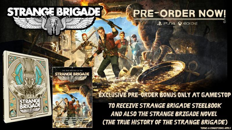 strange brigade collectors edition best buy