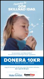 Make a Wish - 10kr Donation