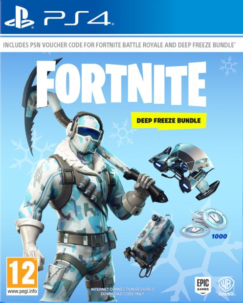 Fortnite: Deep Freeze Bundle Till PS4