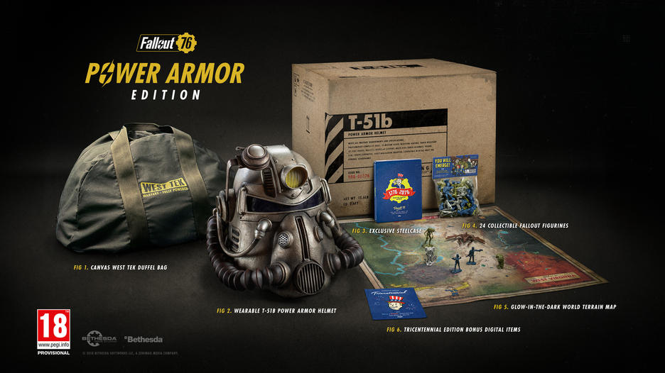 Fallout 76: Power Armour Edition