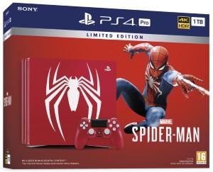 Playstation 4 Pro 1TB Marvel's Spider-Man Limited Edition Konsol