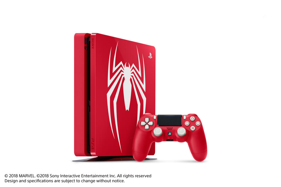 PlayStation®4 1TB Marvel's Spider-Man Limited Edition Konsol